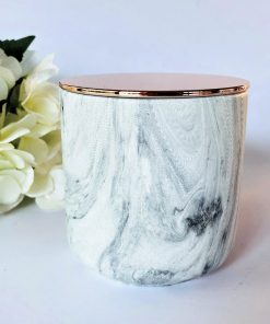 Large Marble Effect Soy Candle