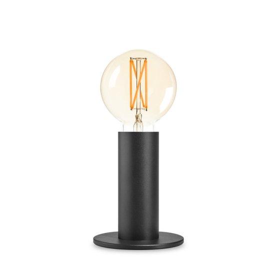LOS tafellamp zwart touch inclusief led lamp