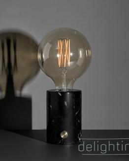 Marmeren tafellamp inclusief led lamp