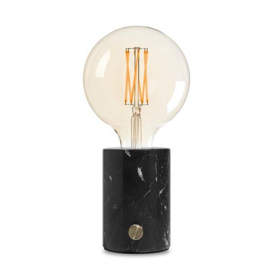 BIRSO-Tafellamp-zwart-marmer-delighting-dimbaar