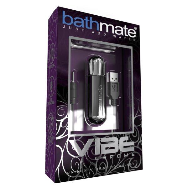Bathmate Vibe Chrome Silver1