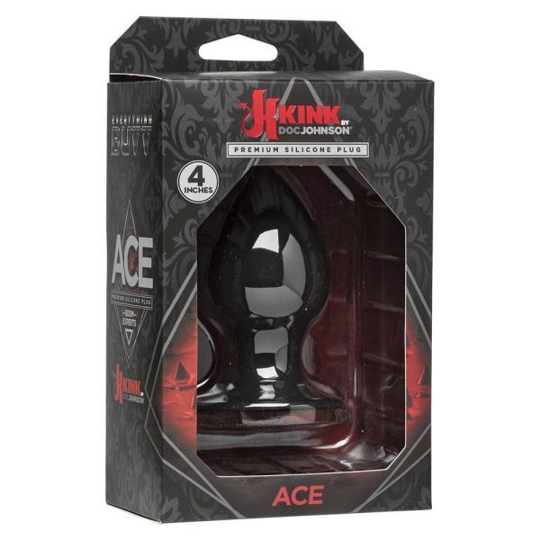 KINK Premium Black Butt Plug