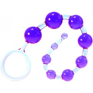Dragonz Tail Anal Beads Violet