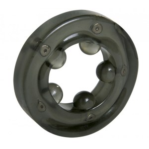 Linx Magnetic Cock Ring Black