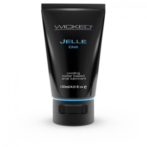 Wicked Sensual Care Jelle Chill Anal Gel Black 120ml