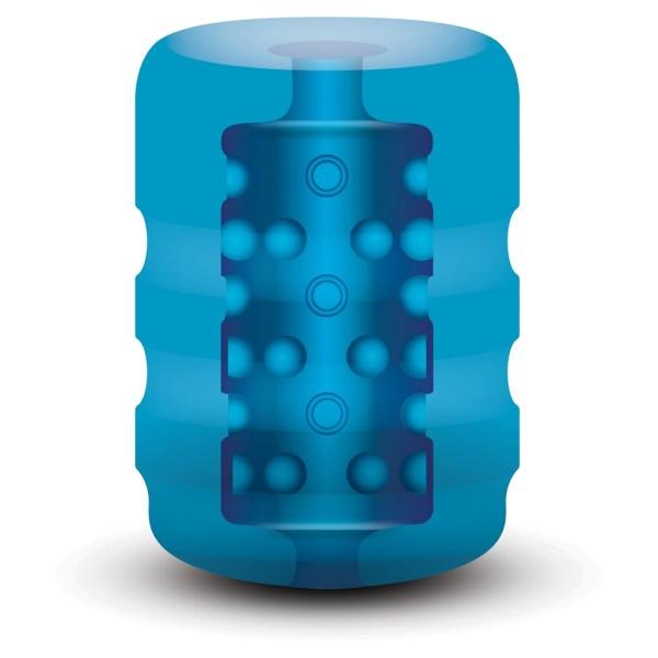 Zolo Backdoor Pocket Stroker Blue