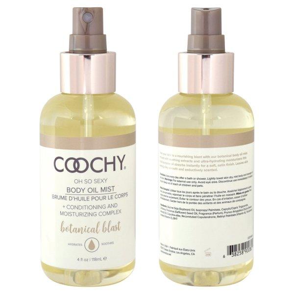 Coochy Body Oil Mist Botanical Blast Transparent 118ml | Sex Toys