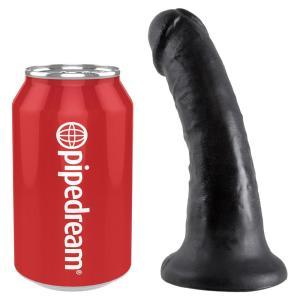 King Cock Black 6in