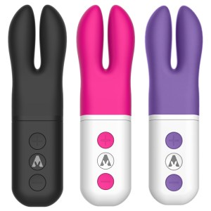 Pocket USB Rechargeable Silicone Quiet Clitoral Vibrator
