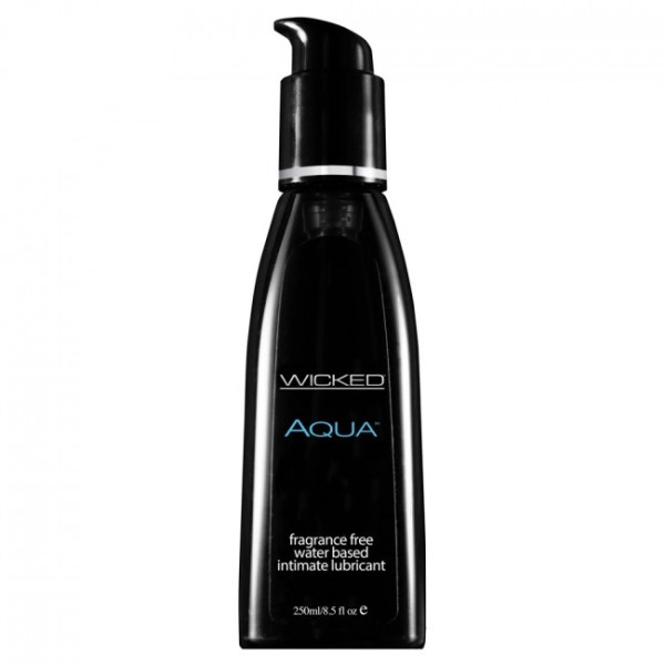 Wicked Sensual Care Aqua Waterbased Black