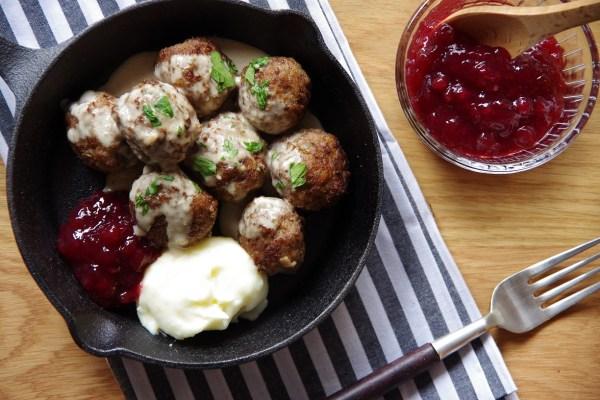スウェーデンミートボール Deliku Kitchen