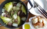 大根と牛肉とセロリのごちそうポトフ