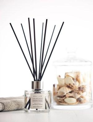 Luxury Bergamot & Amber Reed Diffuser by Delilah Chloe home fragrance