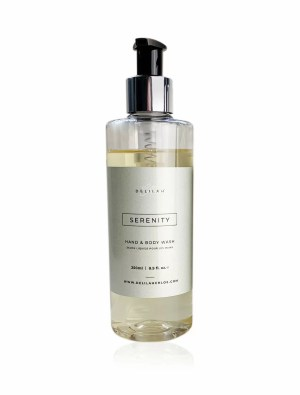 Serenity Hand Wash by Delilah Chloe, Lemongrass & Ginger fragranced hand and body wash