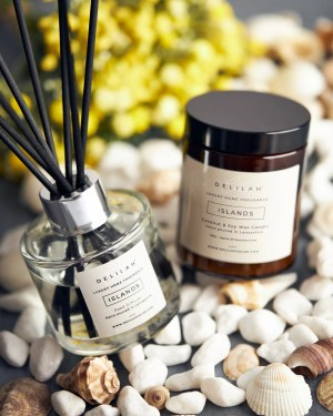 Islands Candle & Reed Diffuser Set, Luxury Home Fragrance by Delilah Chloe