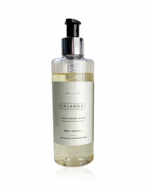 Islands Hand Wash by Delilah Chloe. Lime Basil & Mandarin bath toiletries