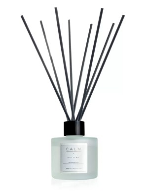 CALM Reed Diffuser by Delilah Chloe, Luxury Lavender Home Fragrance, Calming Reed Diffuser