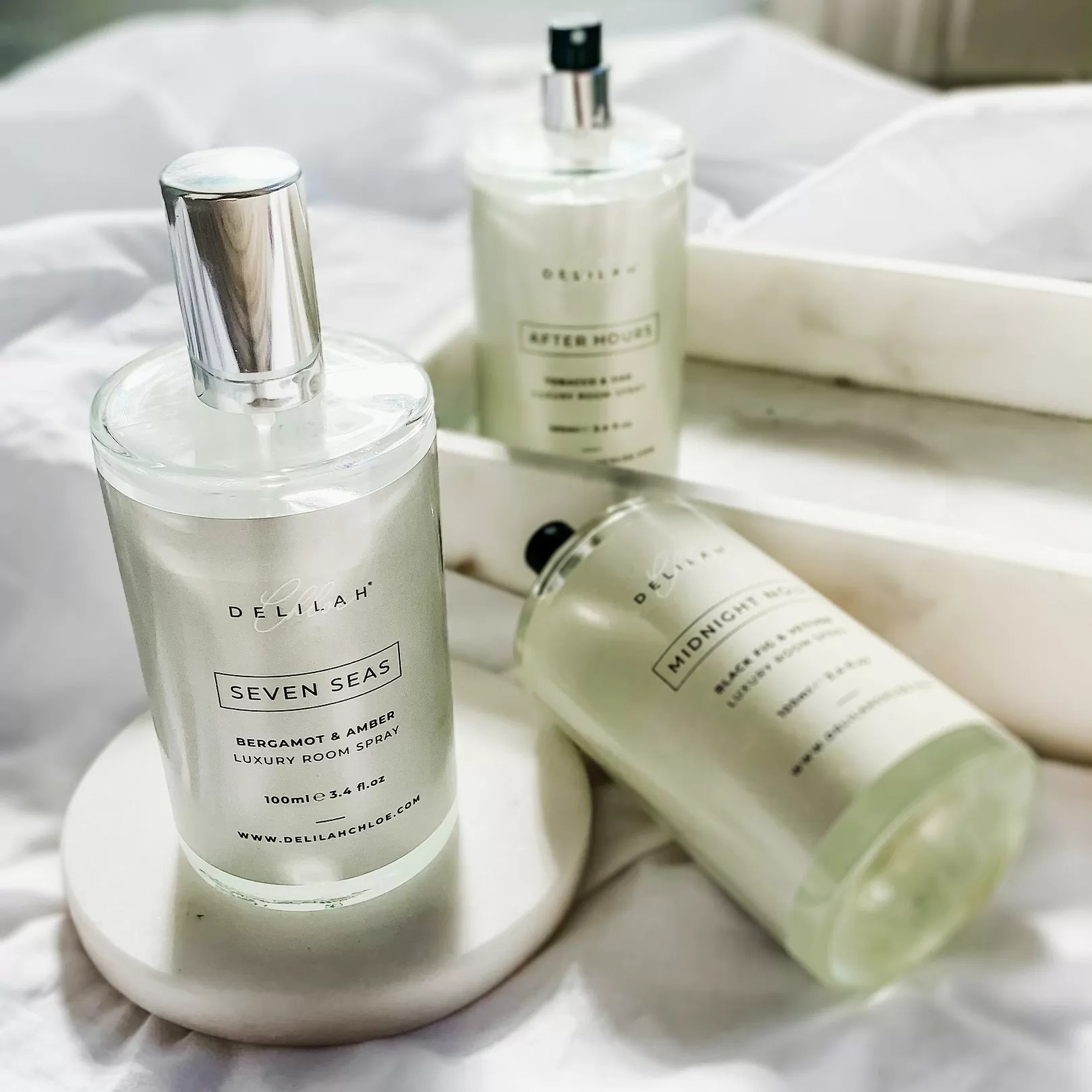 Room Sprays & Scents, Home Fragrance by Delilah Chloe, Luxury Home Fragrances