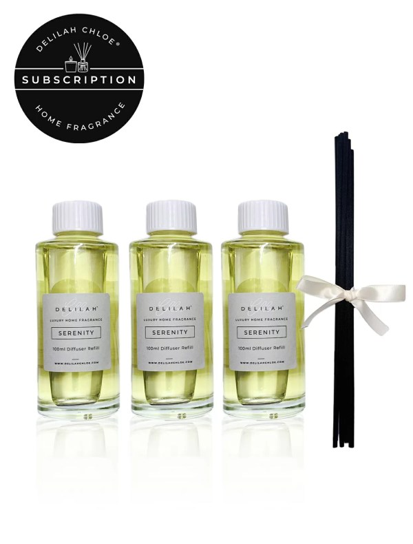 Reed Diffuser Refill Subscription, Delilah Chloe Home Fragrances