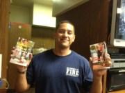 Jennifer's books wth fireman