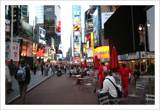 Times square NYC 2010
