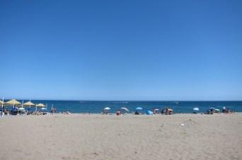La plage de Torremolinos