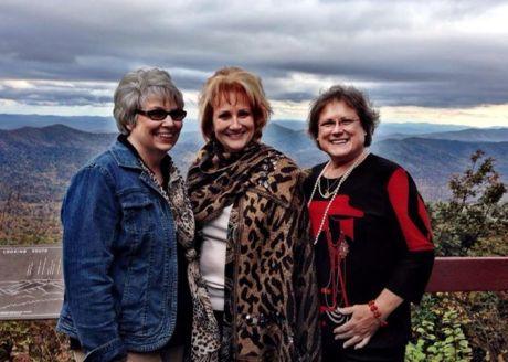 3 friends- blue ridge pkwy