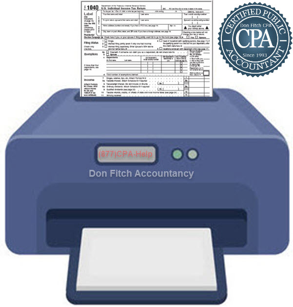 1040 Tax Return Engagement Paperwork - Click on to Download Engagement Paperwork in a pdf format