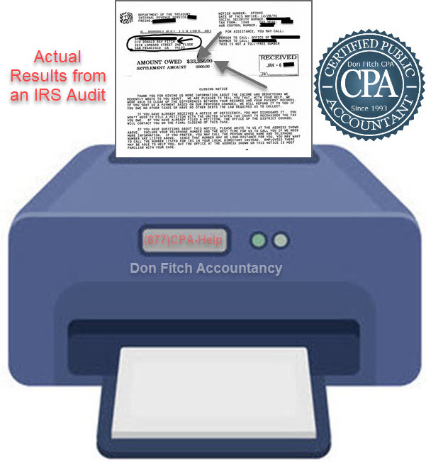 IRS Audit Engagement Paperwork - Click on to Download Engagement Paperwork in a pdf format
