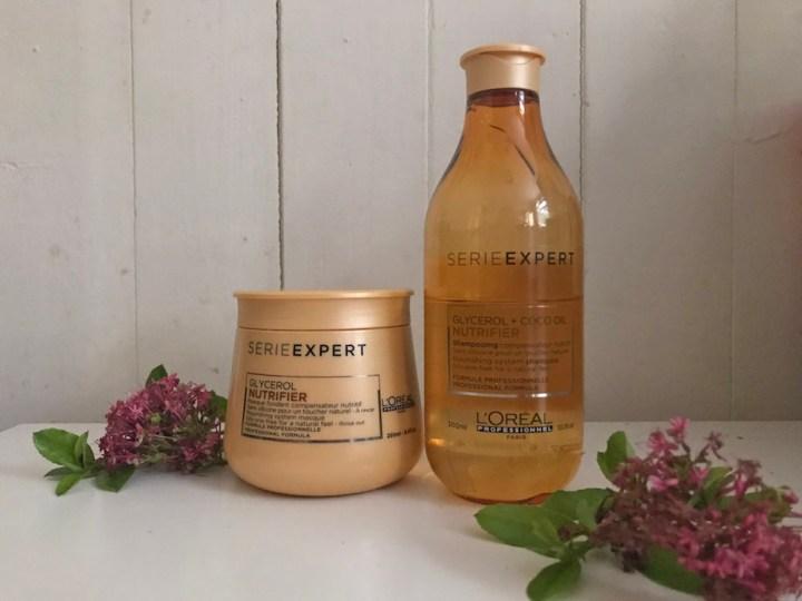 Champú y mascarilla Nutrifier de L'Oréal Professionnel