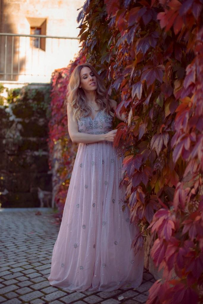 MissSelfridge_Nude Double Layer Sequin Maxi Dress12