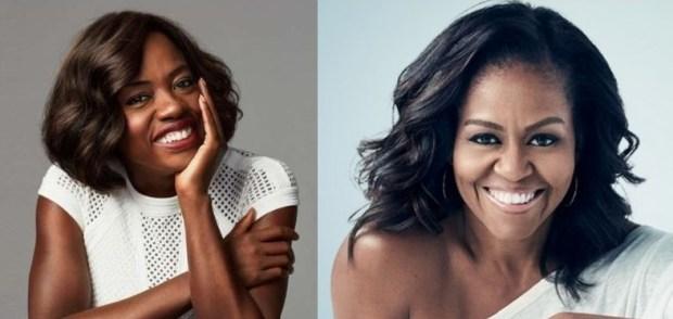 Viola Davis e Michelle Obama