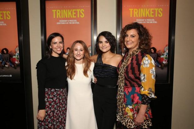 Emily Meyer, Amy Andelson, Brianna Hildebrand e Kirsten Smith
