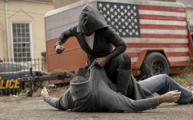 Angela (Regina King) em Watchmen, nova série da HBO