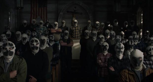 """Grupo supremacista branco conhecido como a Sétima Kavalaria em """"Watchmen"""", nova série da HBO"""