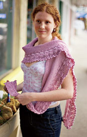 Lacy Kerchief Interweave Knits Holiday 2006 and Summer 2005