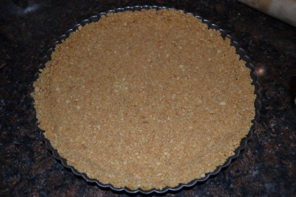 Pumpkin Tart with a Graham Cracker Crust | Delish D'Lites