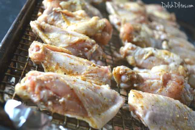 Oven Fried Buffalo Wings | Delish D'Lites
