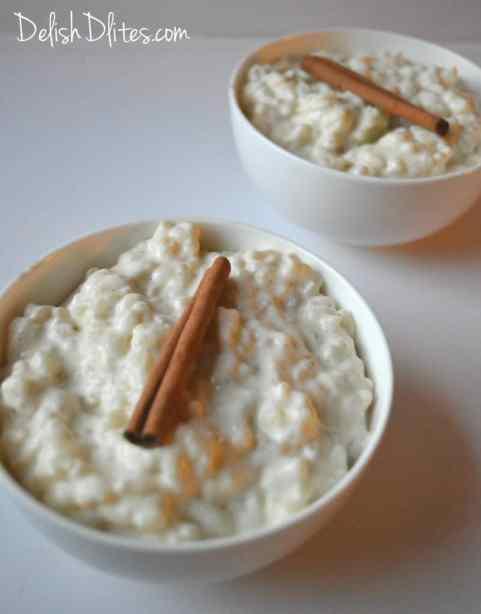 Cinnamon-Scented Arborio Rice Pudding (Arroz Con Leche) | Delish D'Lites