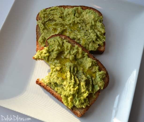Avocado Toast | Delish D'Lites