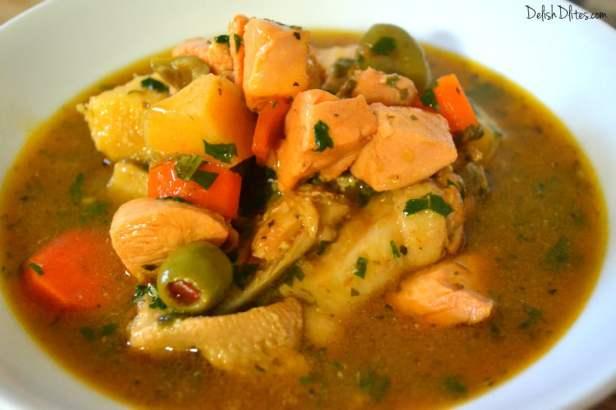 Pollo Guisado (Puerto Rican Chicken Stew) | Delish D'Lites