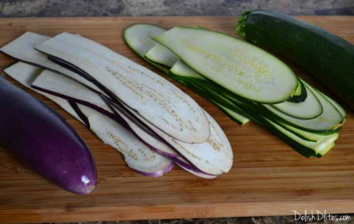 Zucchini and Eggplant Lasagna | Delish D'Lites