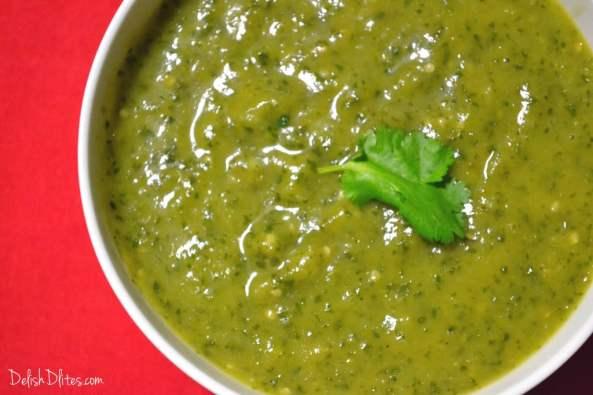 Tomatillo Salsa Verde   Delish D'Lites