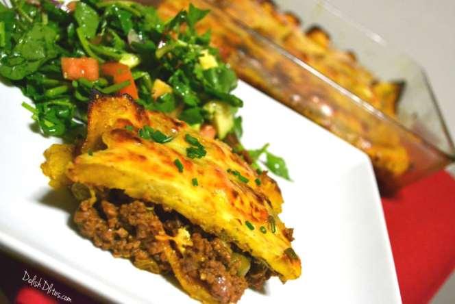 Pastelón (Sweet Plantain Lasagna) | Delish D'Lites