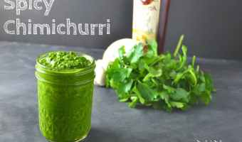 Spicy Chimichurri Sauce
