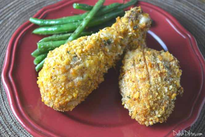 Oven Fried Panko Crusted Chicken | Delish D'Lites