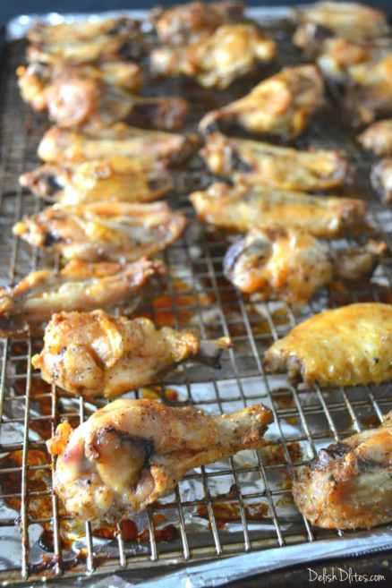 Oven Fried Buffalo Wings   Delish D'Lites