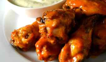 Oven Fried Buffalo Wings