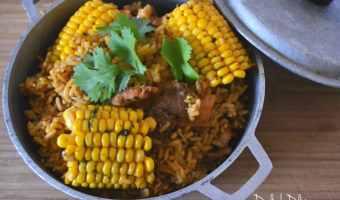 Arroz Con Pollo (Puerto Rican Chicken & Rice)