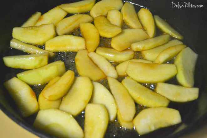 Fried Apples | Delish D'Lites